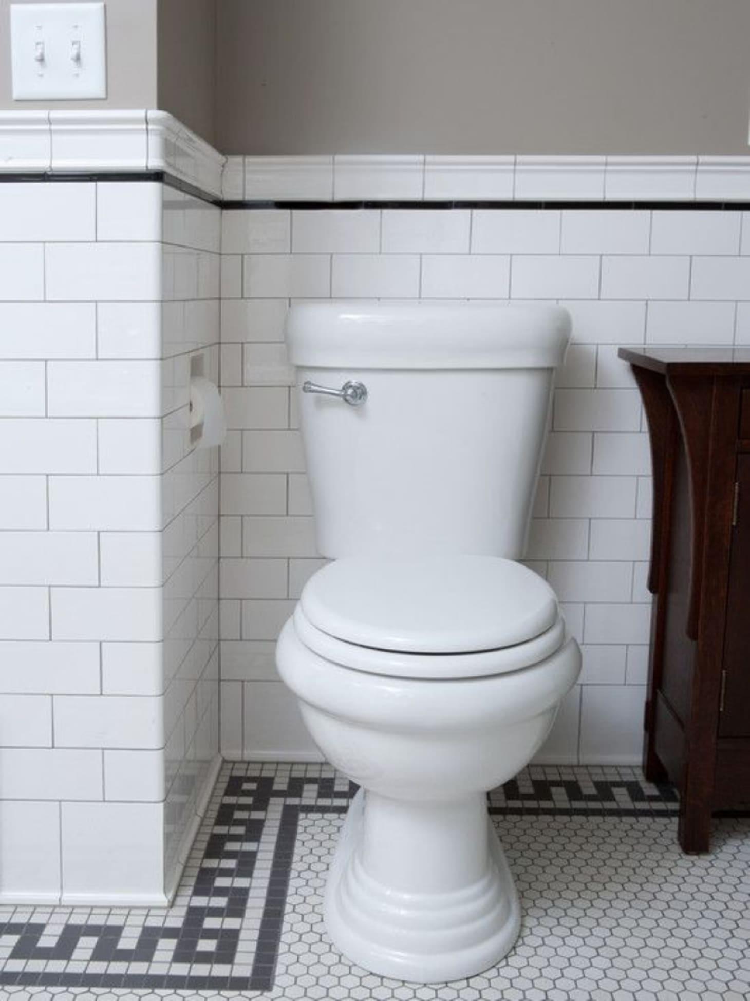 Mosaic Tile Floor Ideas For Vintage Style Bathrooms Apartment