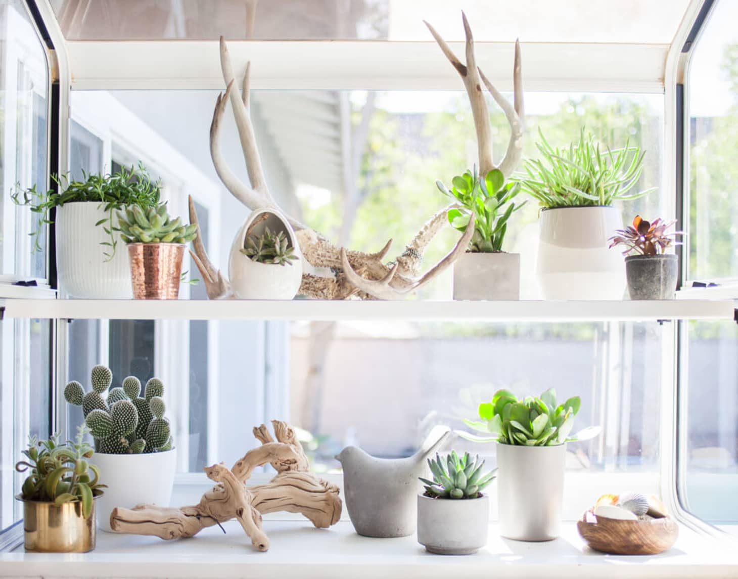 Use Your Windowsills For More Storage Usable Surface Area