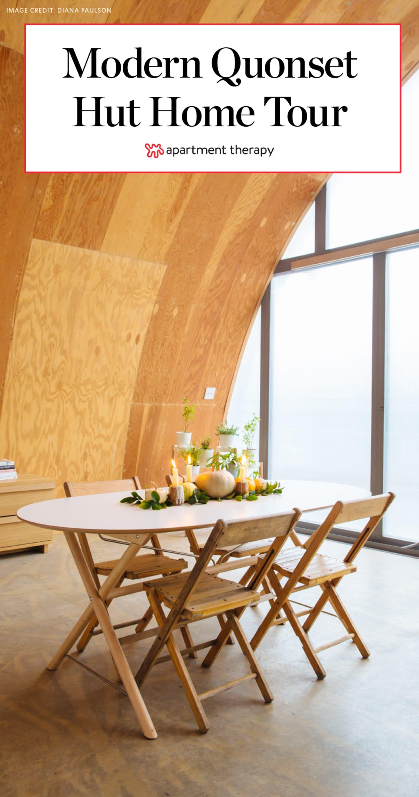 House Tour A Modern Minimal Quonset Hut Detroit Home Apartment