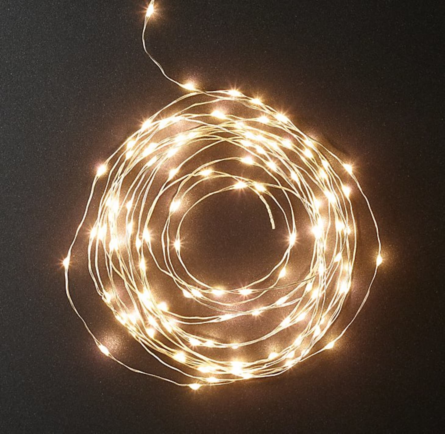 RESTORATION HARDWARE STARRY LIGHT FROST GLOBE STRING LIGHTS ~ SMALL