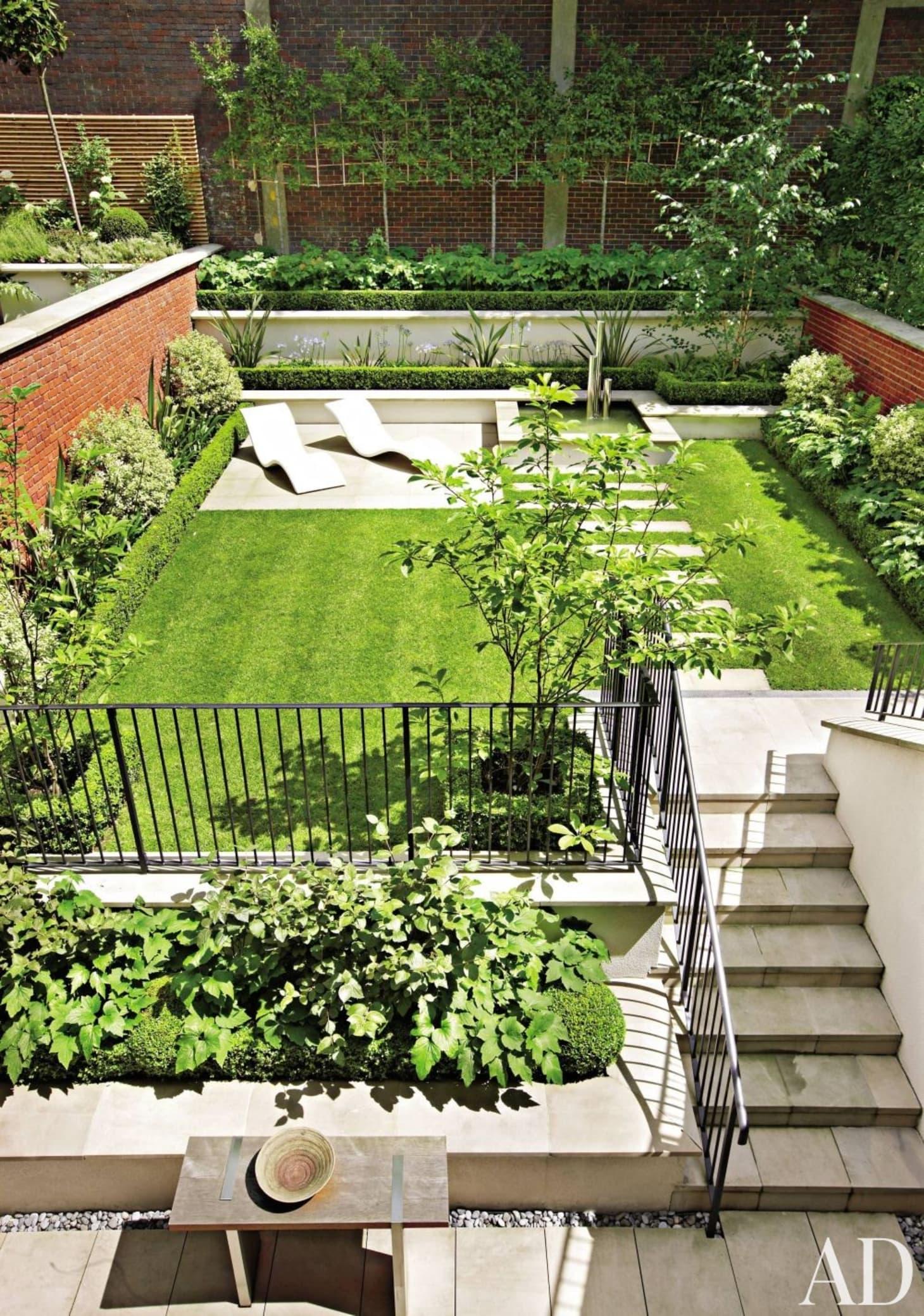 Landscape Inspiration A Dozen Lush Lovely Townhouse Backyards