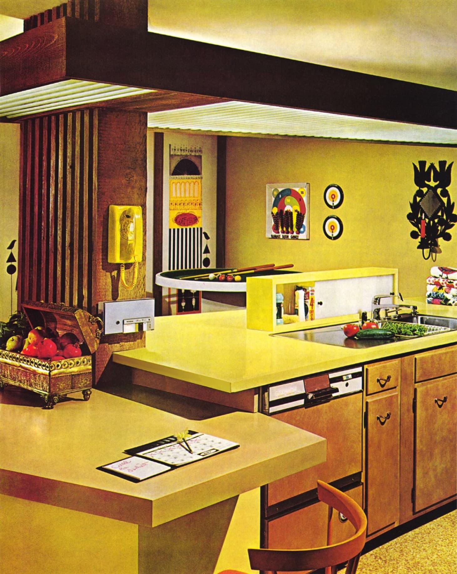 Kitchen Room Interior Design: A Brief History Of 1970s Kitchen Design