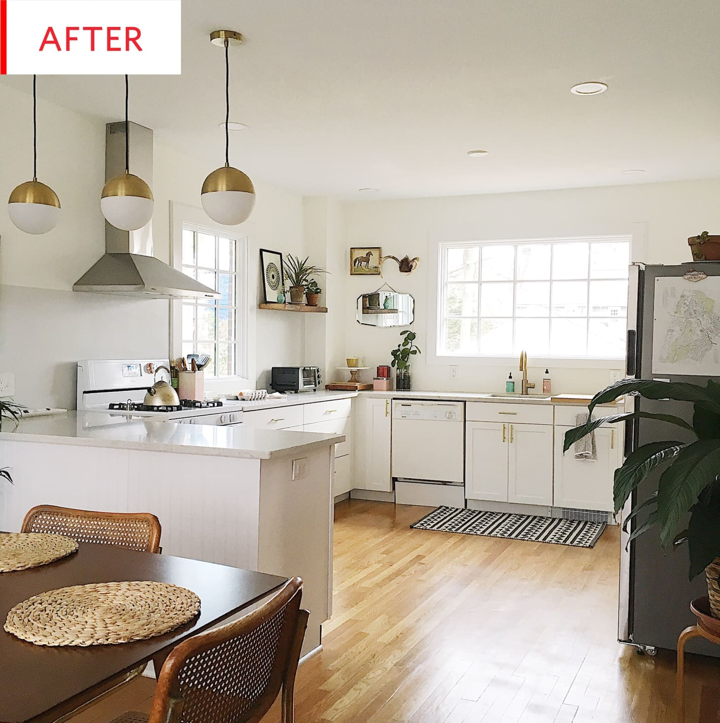 Outstanding Kitchen And Dining Room Renovation With Historic Charm Kitchn Download Free Architecture Designs Ferenbritishbridgeorg