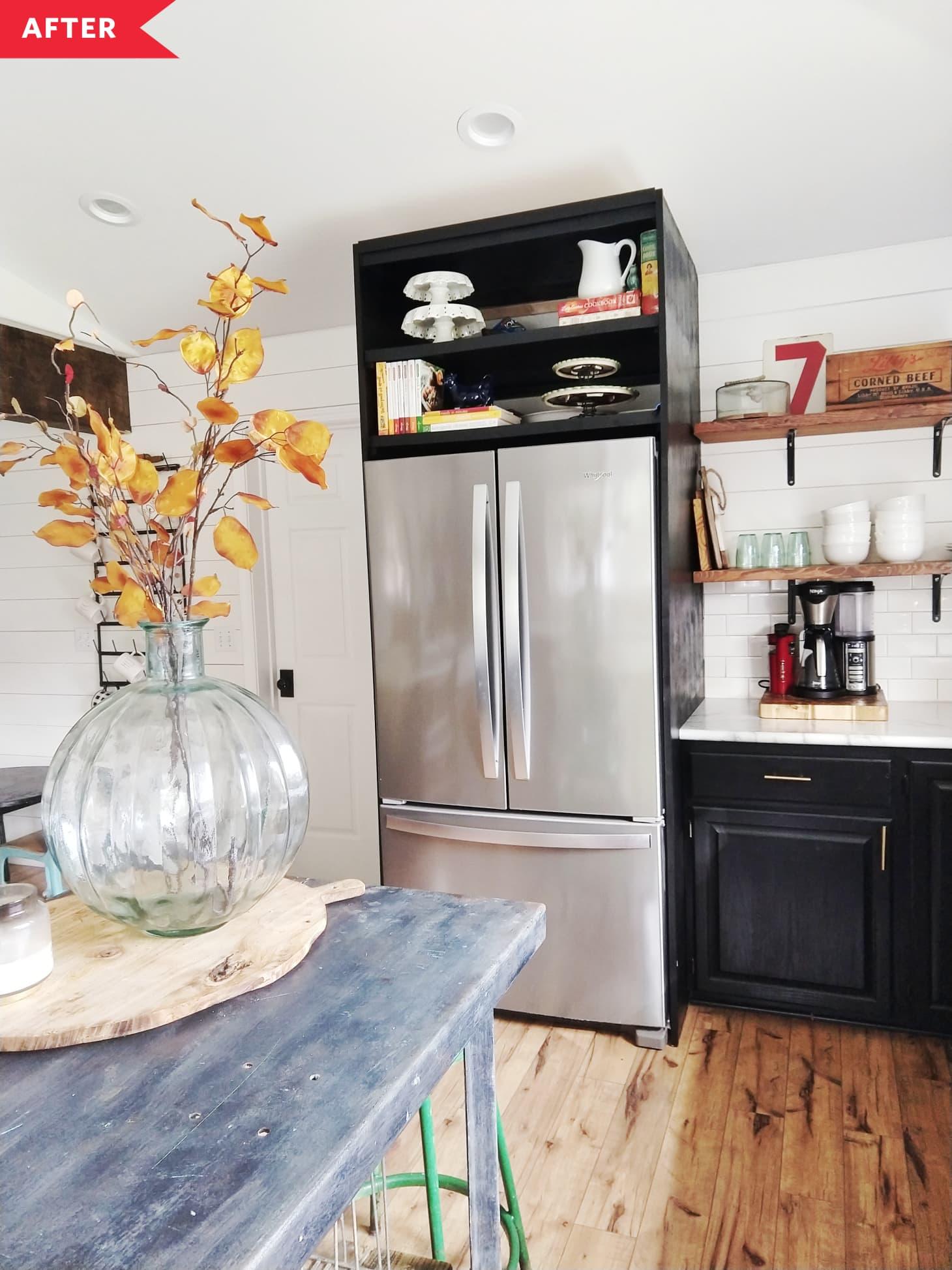 Fridge Surround - Kitchen Cabinet Ideas | Apartment Therapy