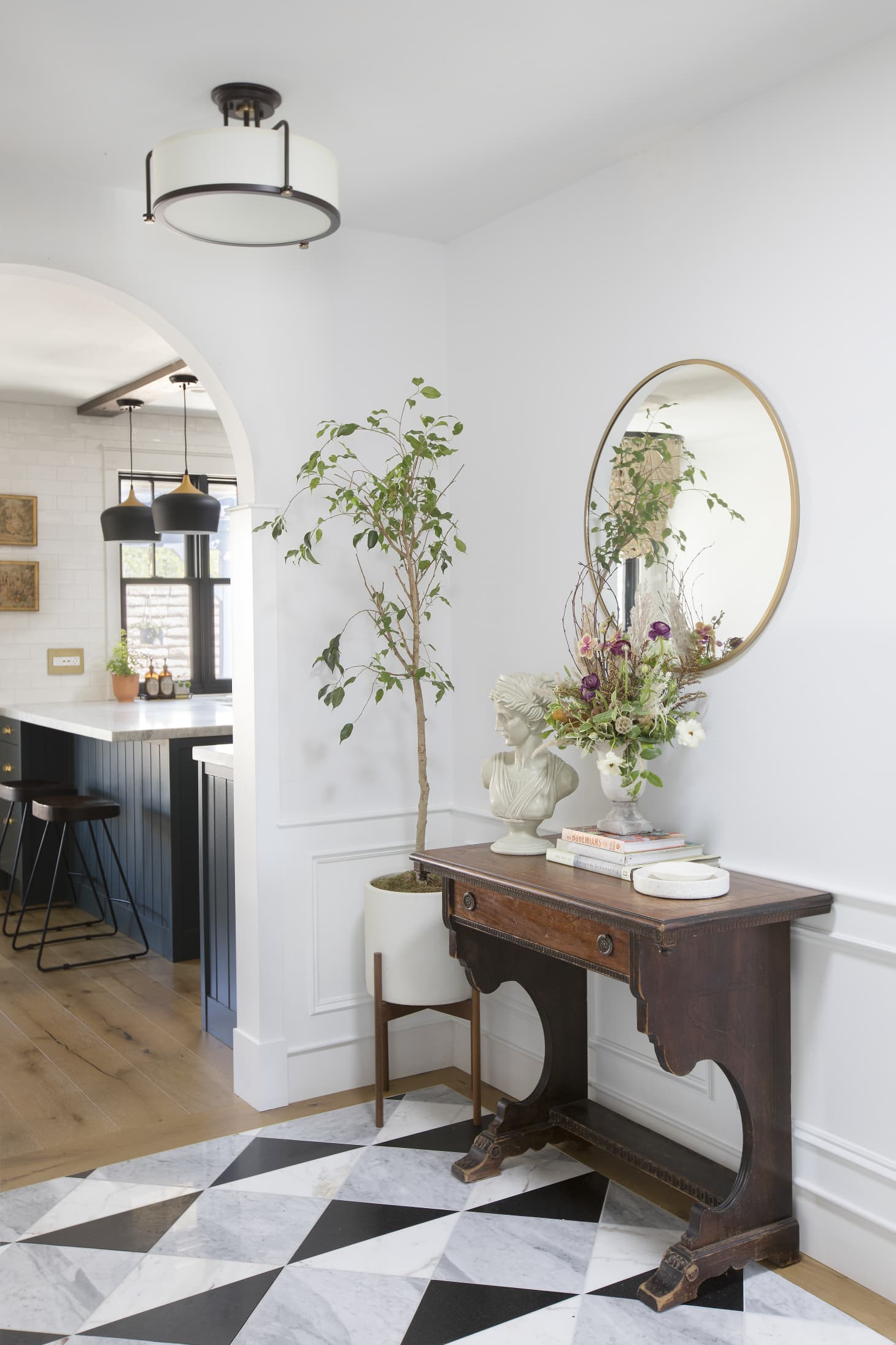 Tract Home Renovation House Tour Photos Apartment Therapy