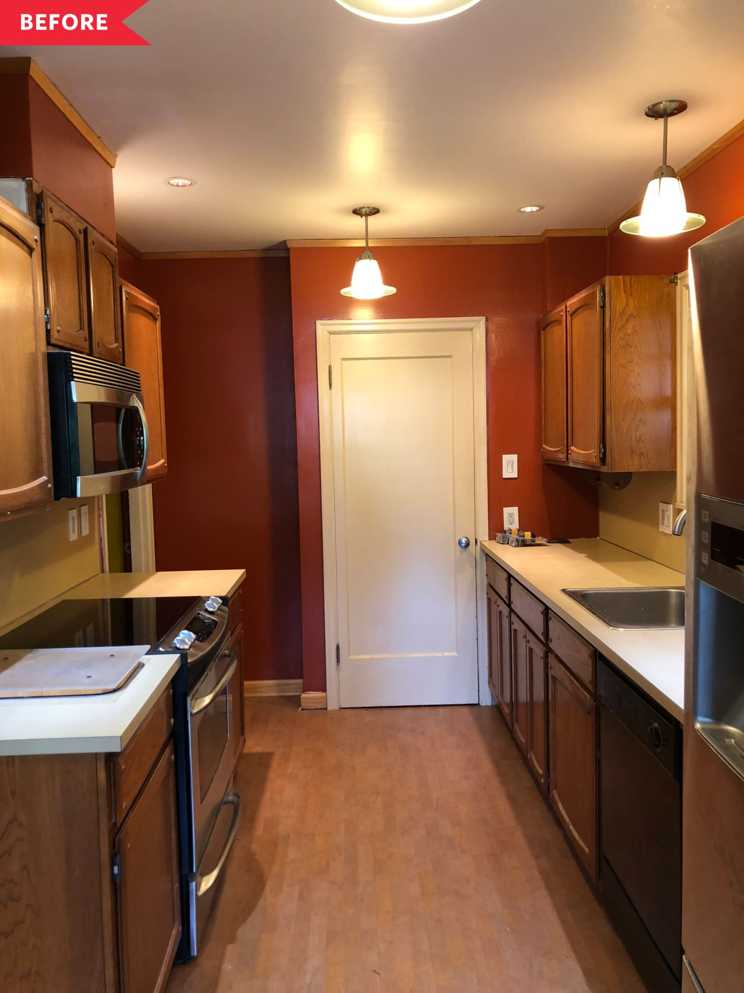Dated Kitchen Budget Remodel Project | Apartment Therapy