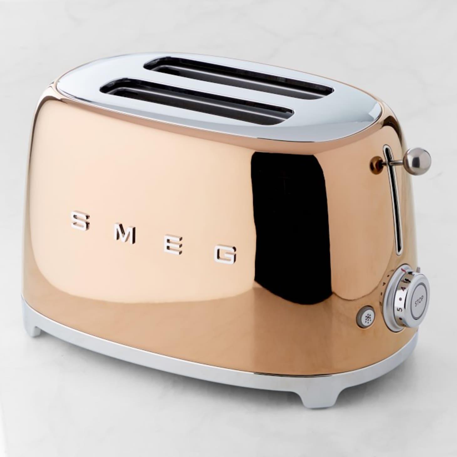 SMEG Rose Gold Kitchen Appliances