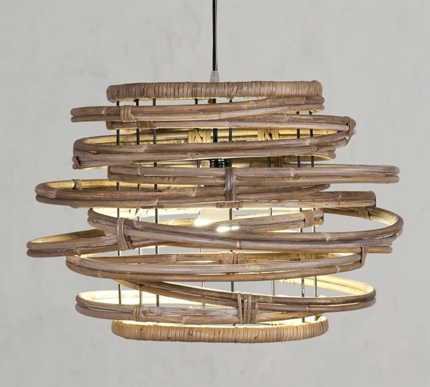 Currently Obsessed: Rattan & Wicker Pendant Lights