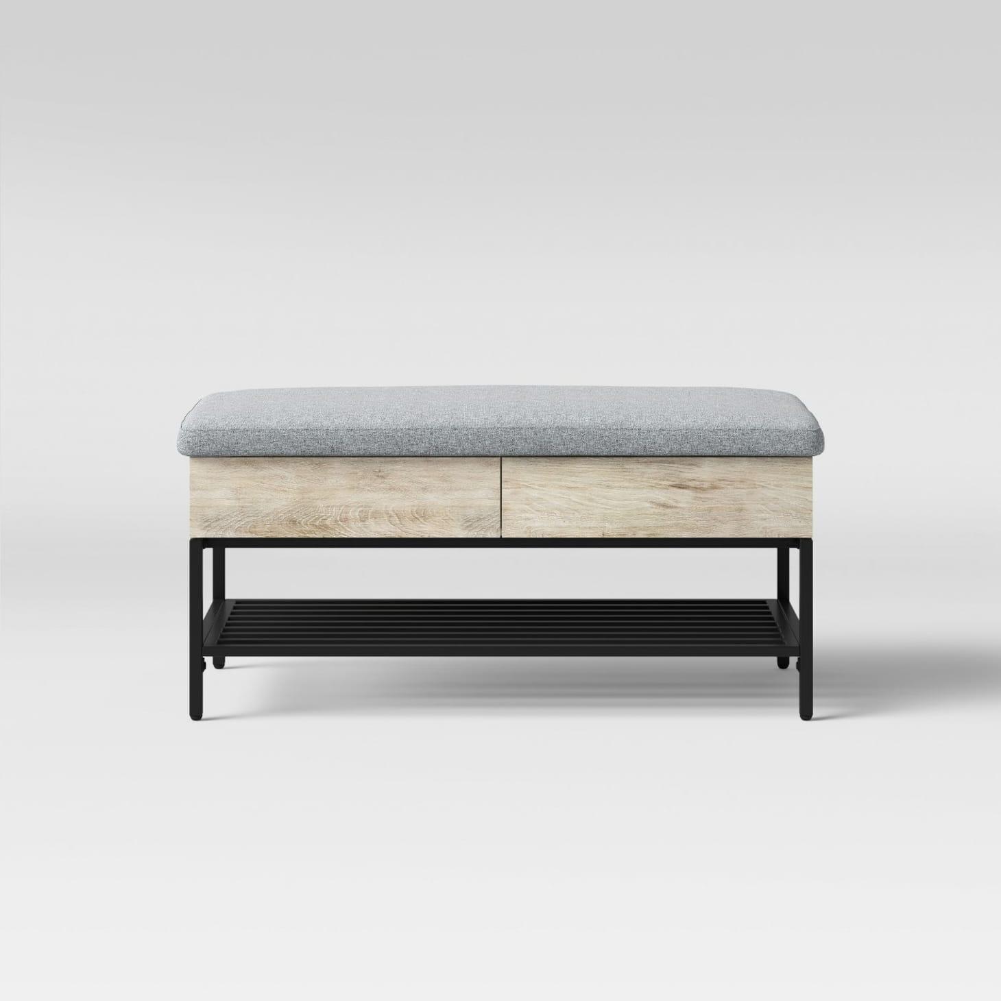 Groovy Best Storage Benches Under 200 Wayfair Walmart Theyellowbook Wood Chair Design Ideas Theyellowbookinfo
