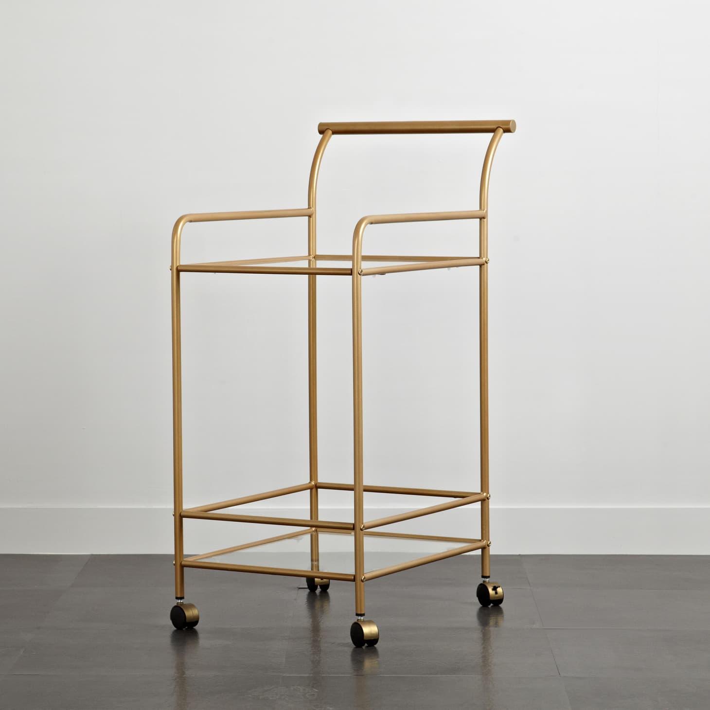 Stylish Bathroom Storage Carts Apartment Therapy