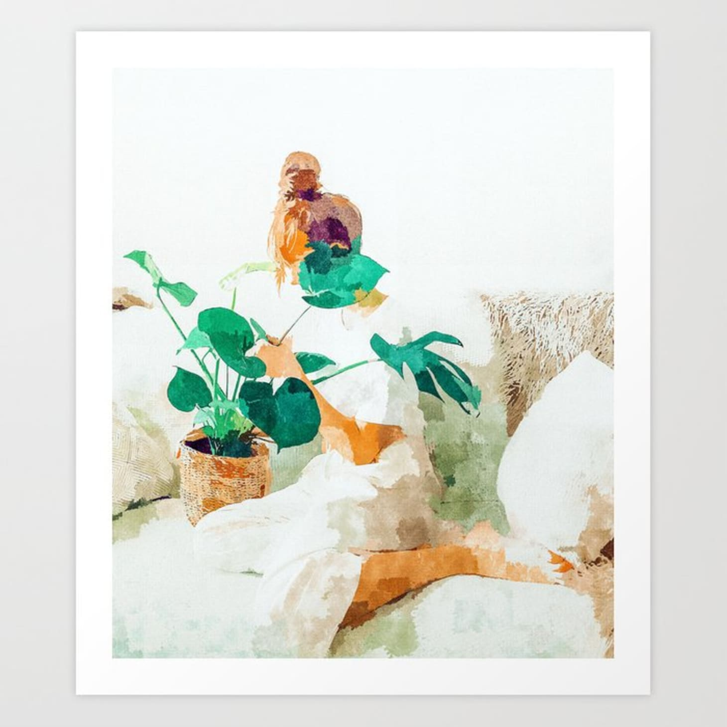 Plant Lady Themed Home Decor Apartment Therapy