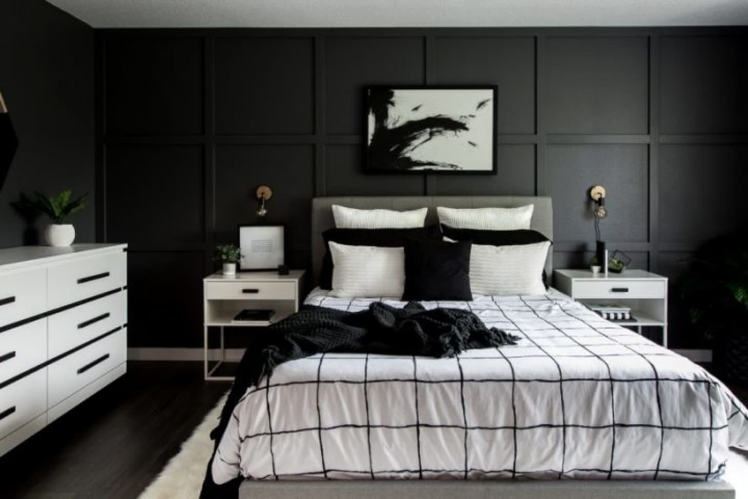 Beautiful Black Painted Rooms - Black Room Ideas | Apartment ... on black white bedroom themes, black white bedding, men bedroom design ideas, black white modern bedroom, black and white decorating tips, black white gardening, black and white home decor ideas, black white books, black white dining, black white paint ideas, modern bedroom design ideas, black white kitchen, black and white bedroom, black white bedroom sets, black white photography, black white brown bedroom, black and white rooms, black white halloween, black white bathroom, white and teal bedroom ideas,