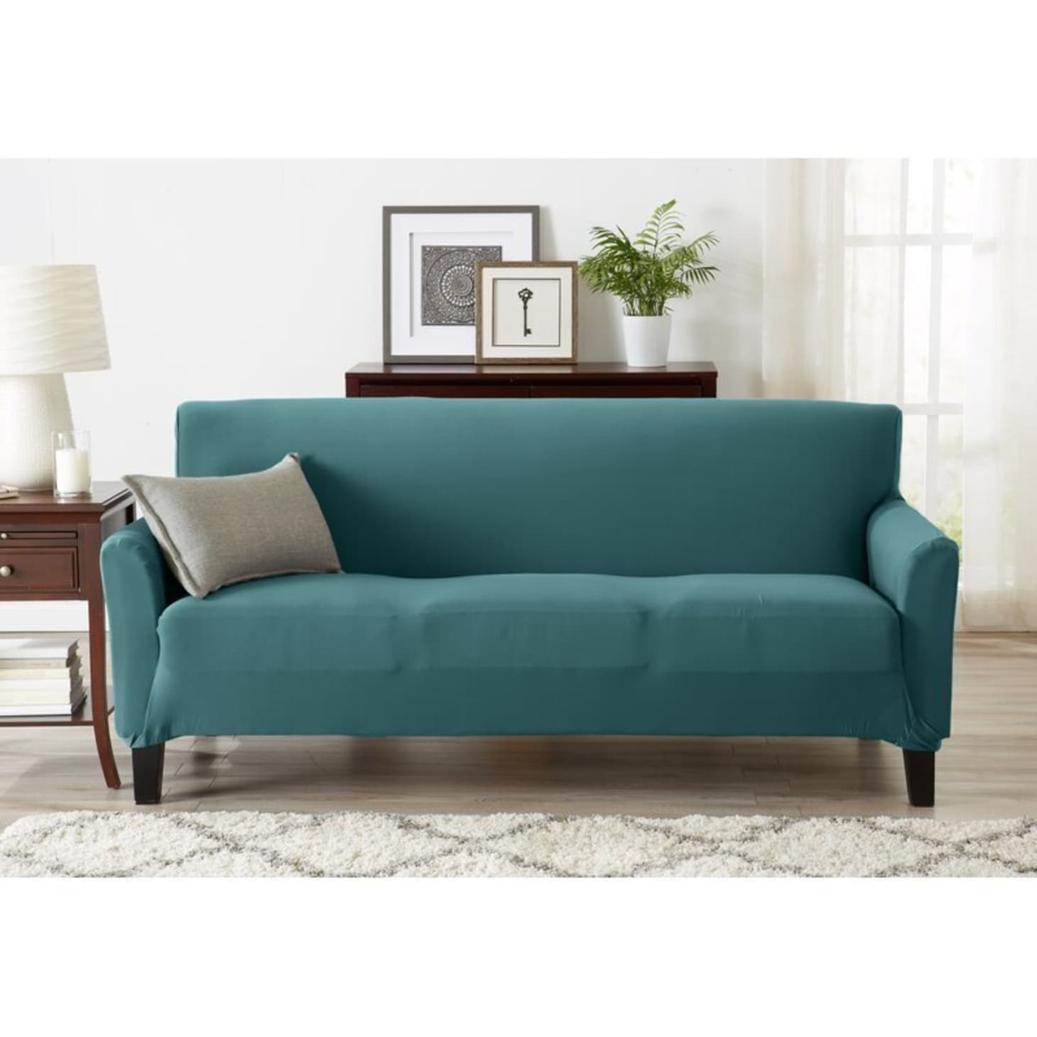Surprising The Best Slipcovers For Your Couch Apartment Therapy Onthecornerstone Fun Painted Chair Ideas Images Onthecornerstoneorg
