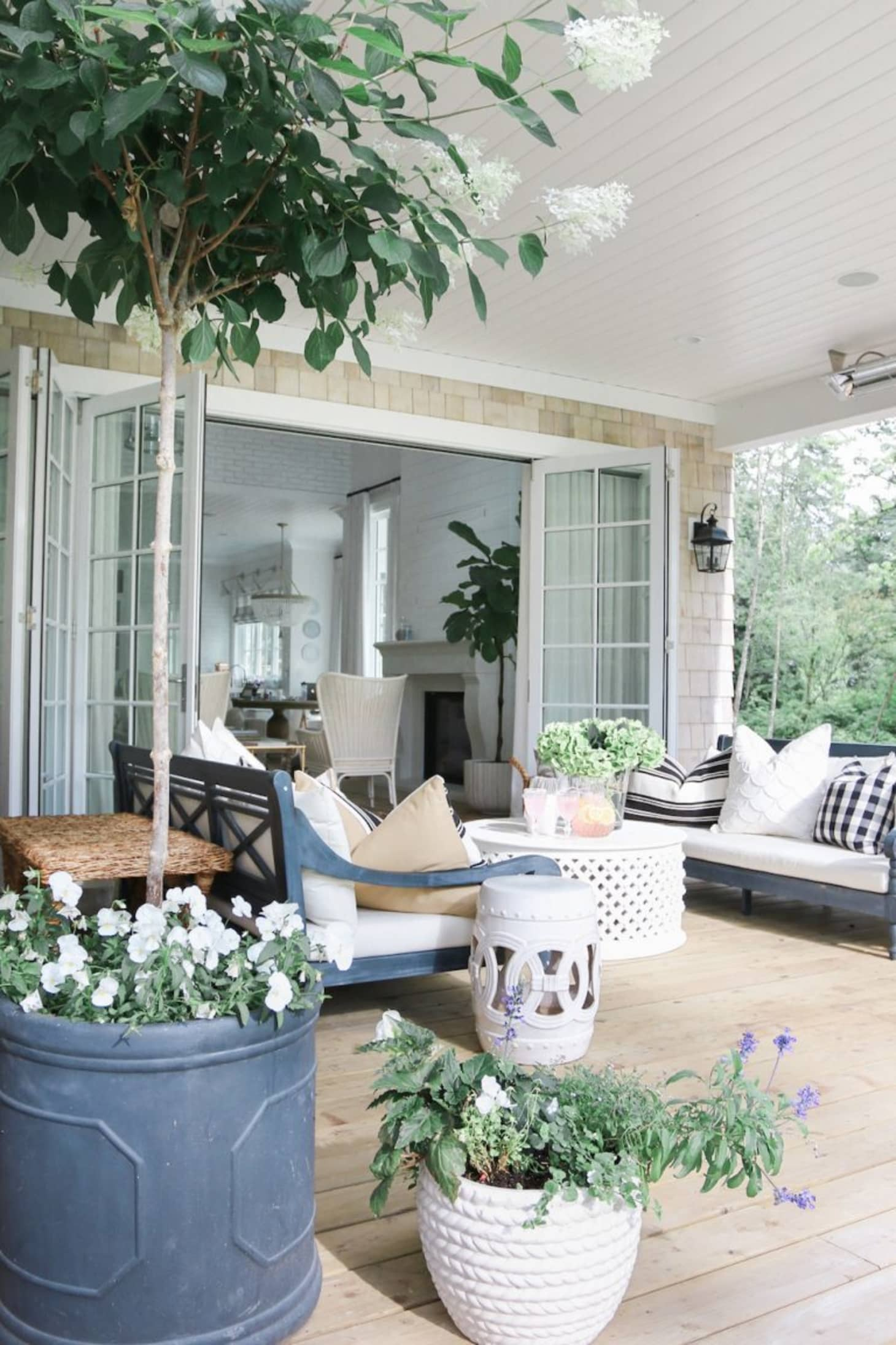 . How to Create an Outdoor Space that s Basically a Second Living Room
