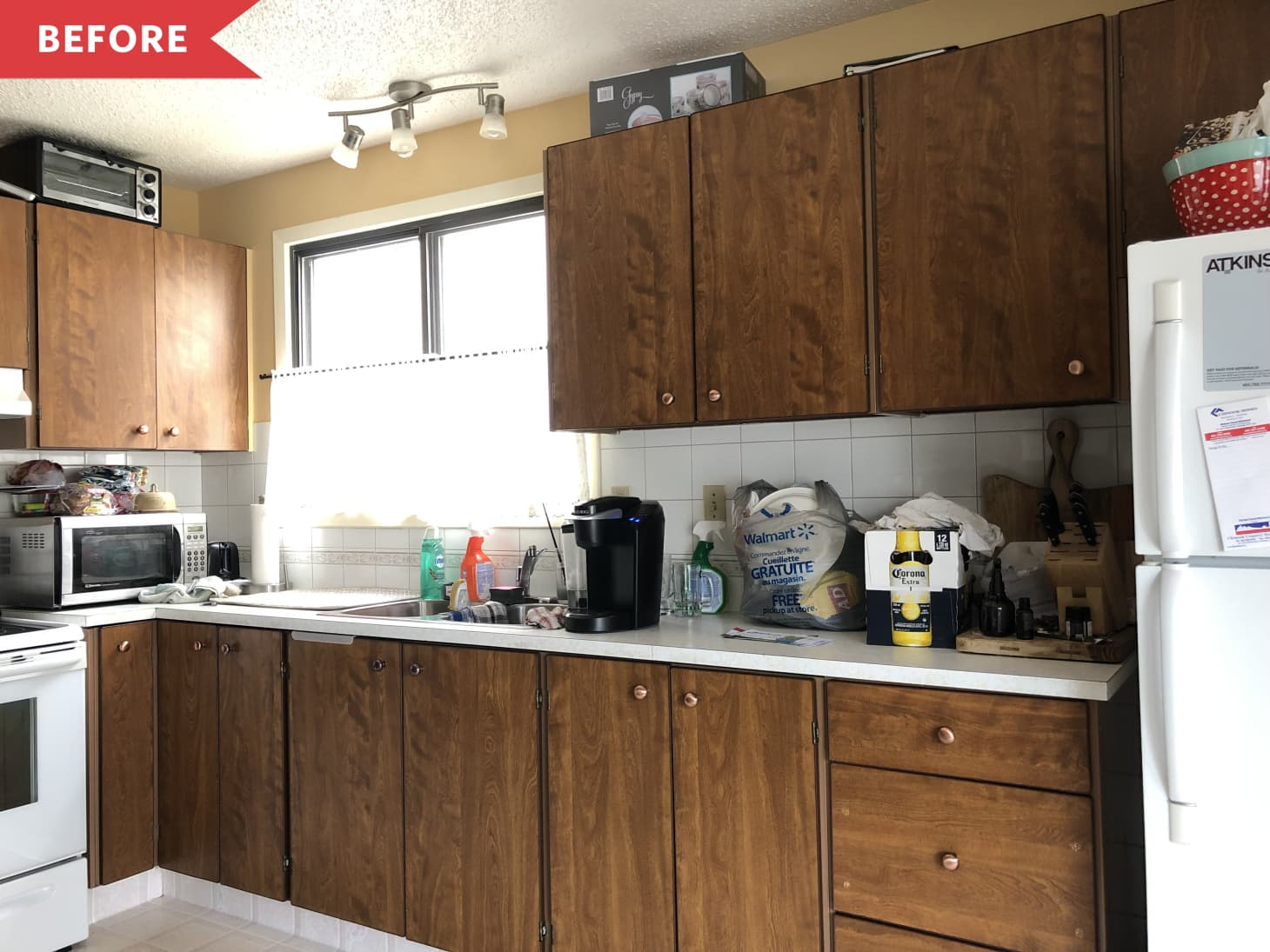 Budget Diy Kitchen Makeover Before And After Kitchn