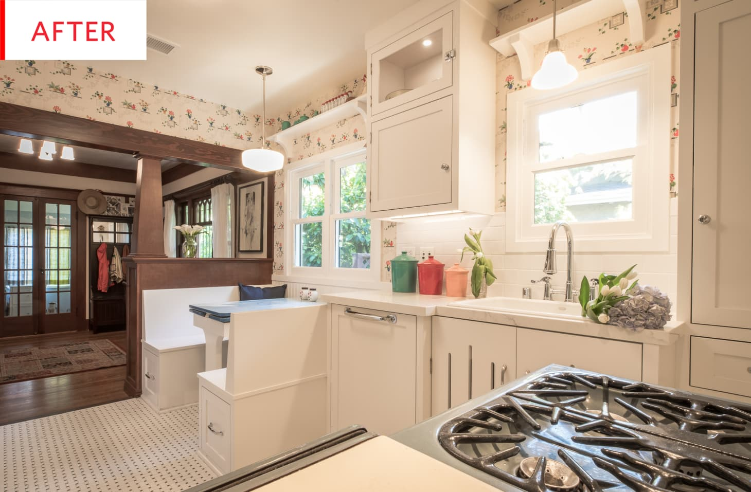 Vintage Kitchen Remodel 1930s and 1940s Decor | Apartment