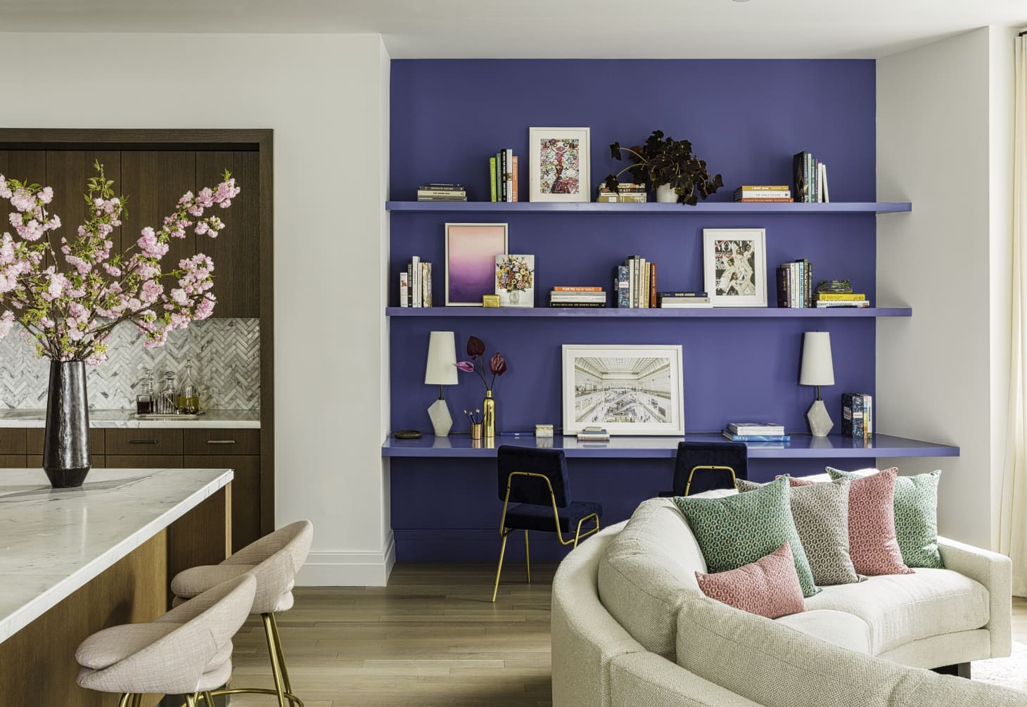 The Best Blue Living Room Wall Colors According To Real Estate