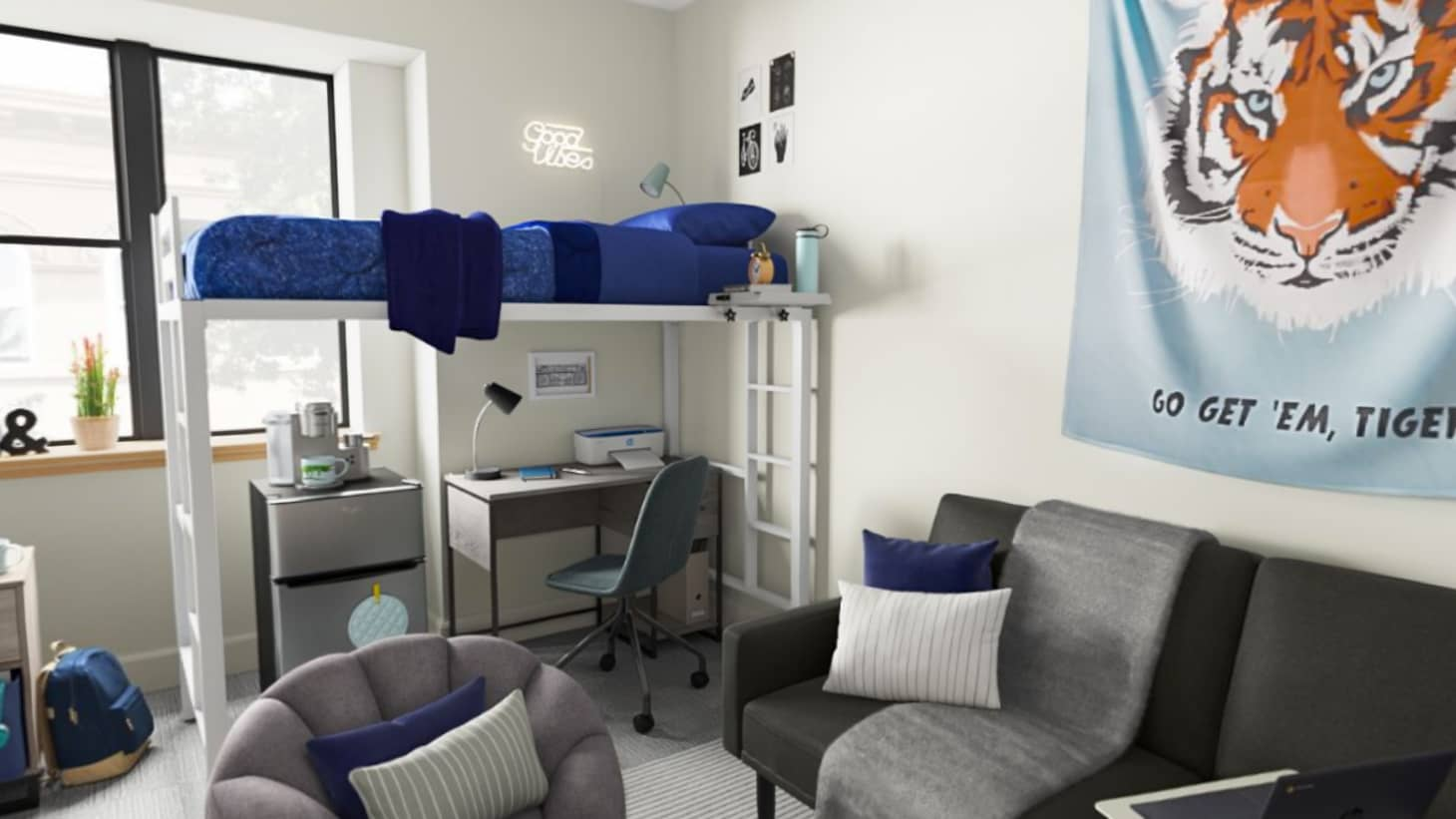 10 Tips for Organizing Your Tiny Dorm Room | Apartment Therapy