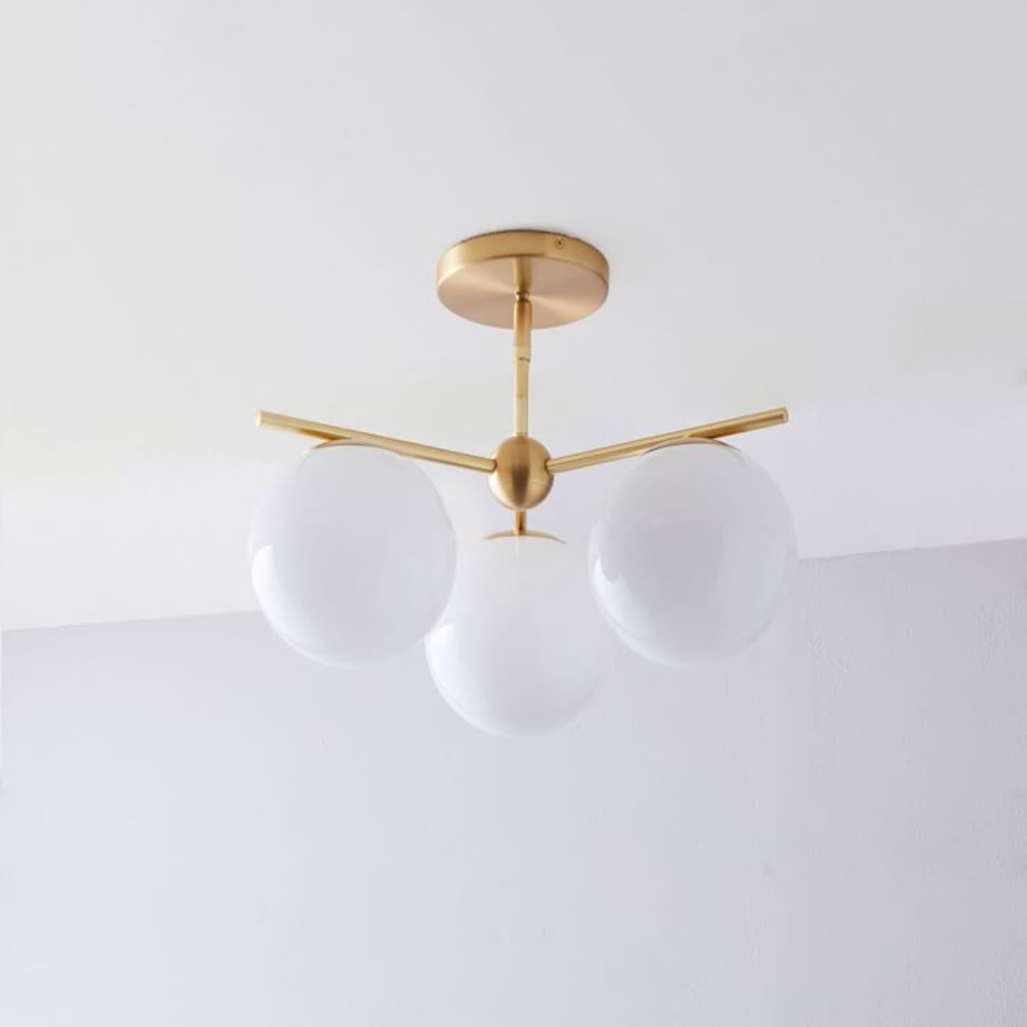 quality design 31af9 a893d Shopping Guide: Best Modern Flush-Mount Ceiling Light ...