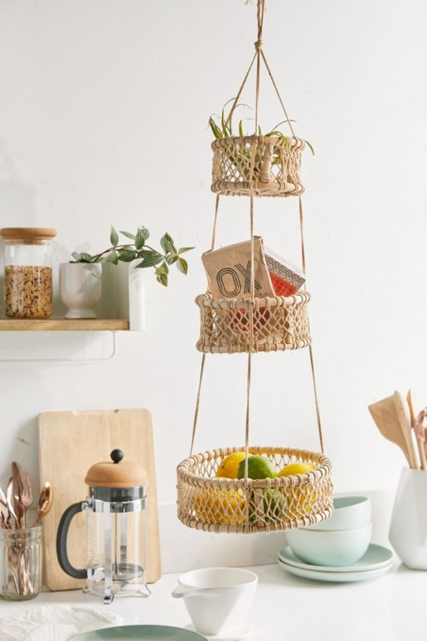 Hanging Fruit Baskets - Kitchen Decor | Kitchn