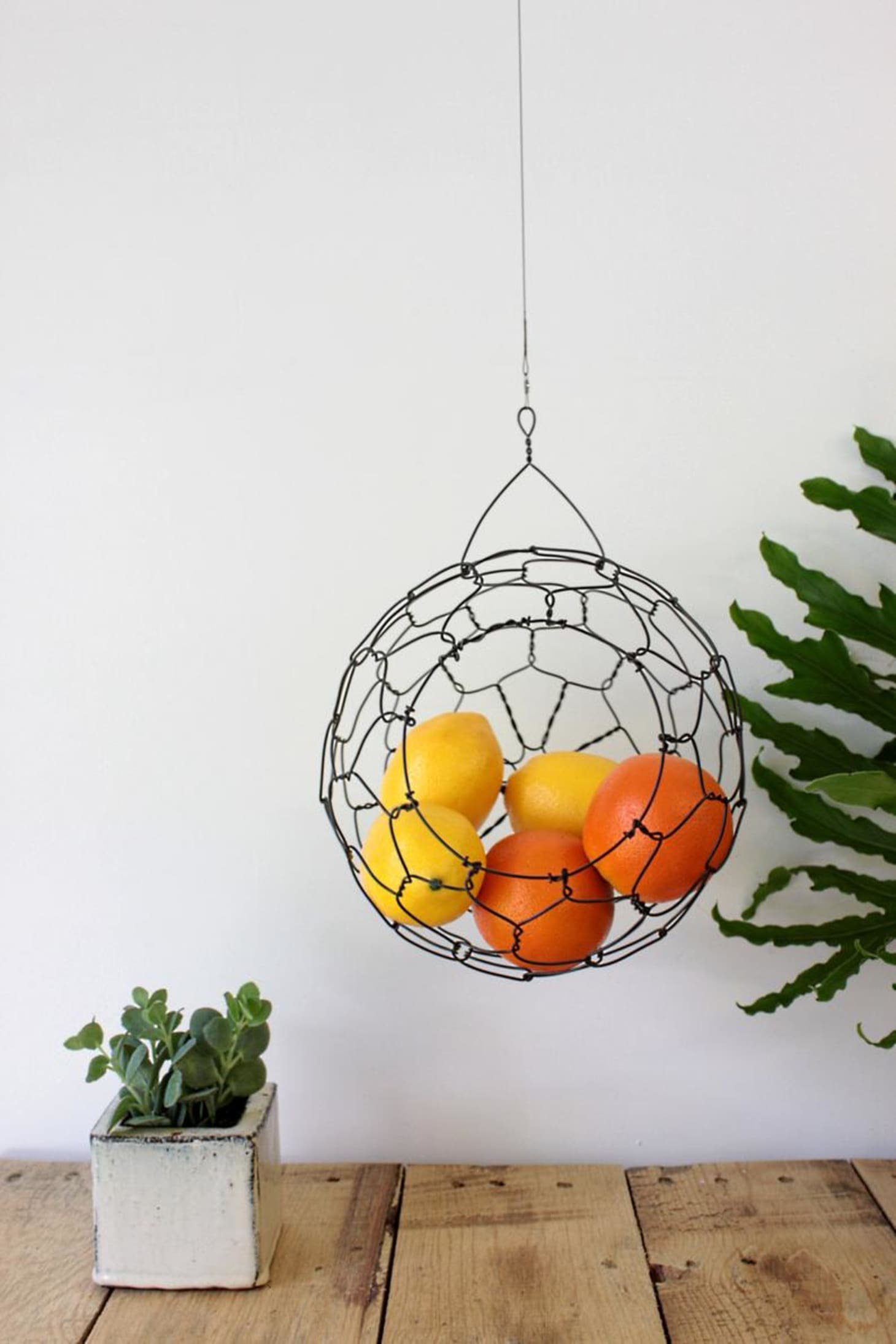 hanging fruit baskets - kitchen decor | kitchn