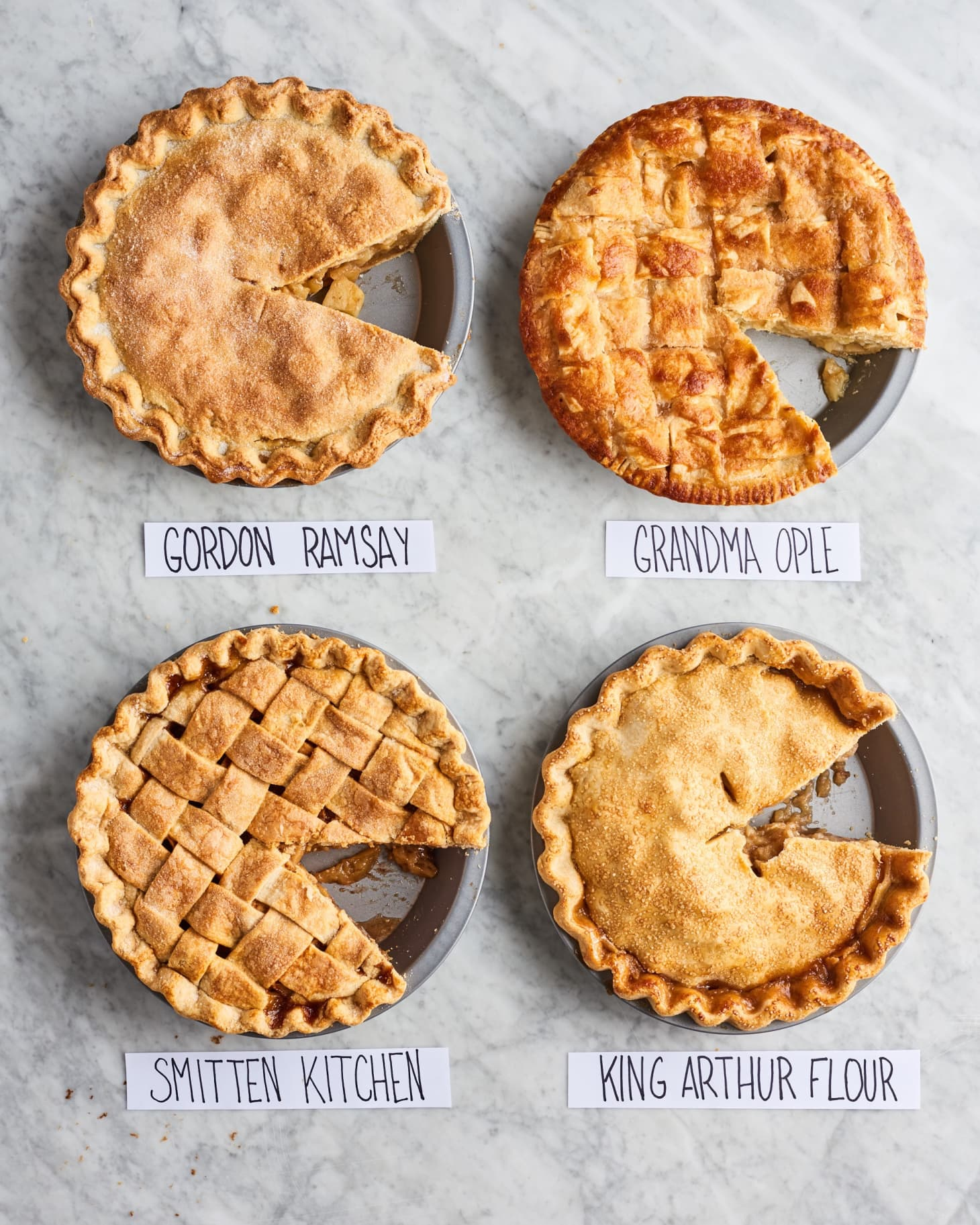 We Tested 4 Well Loved Apple Pie Recipes Here S How They Compared
