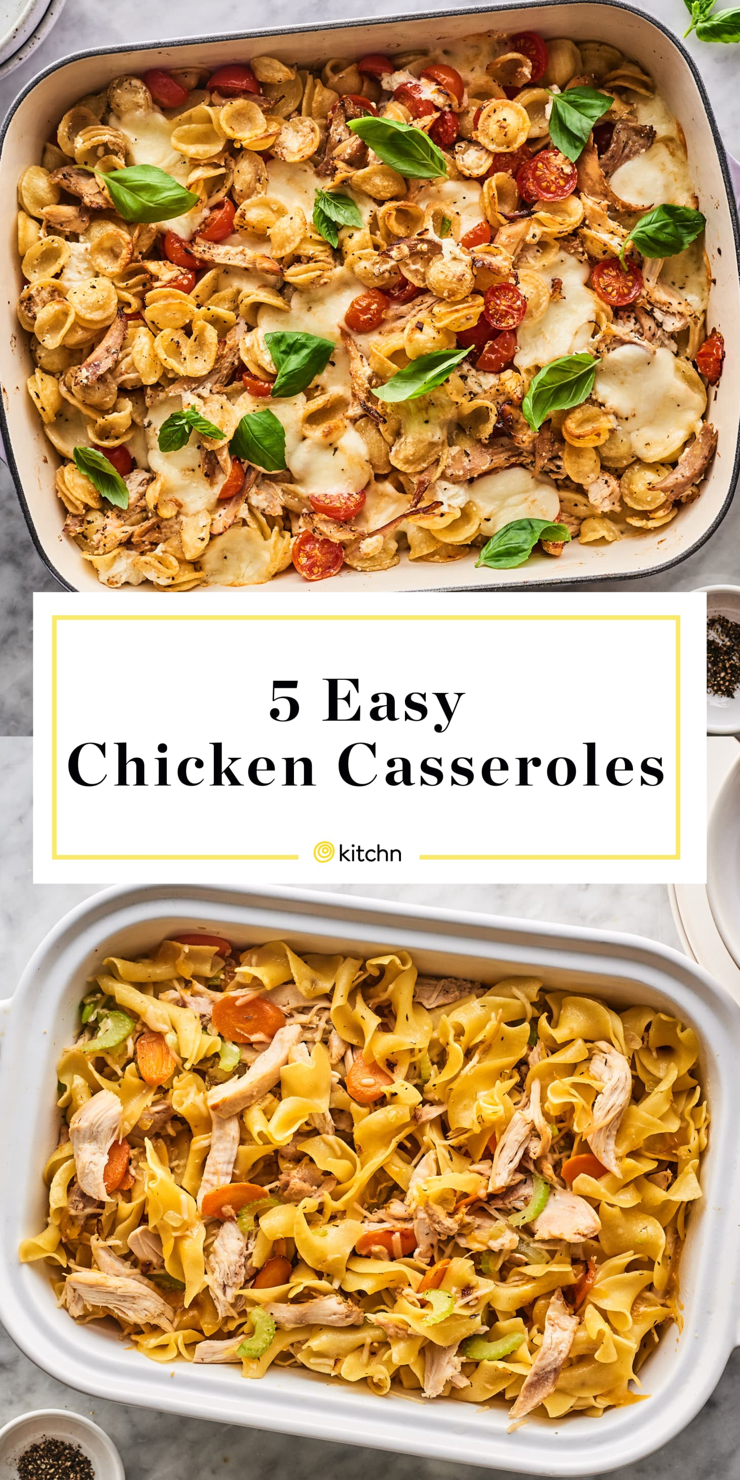 5 Easy Comforting Chicken Casserole Recipes Kitchn