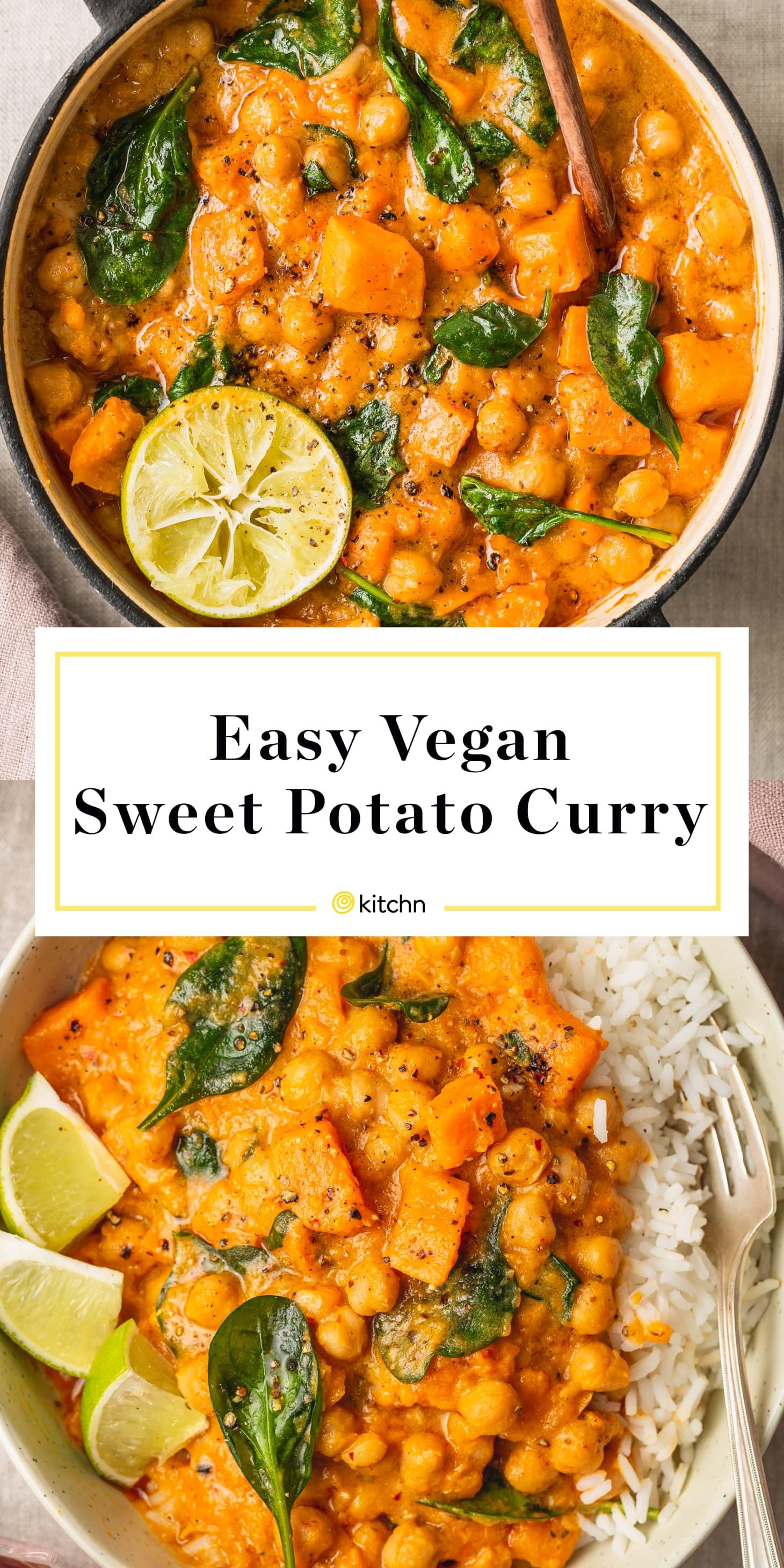 Easy Vegan Sweet Potato Curry Kitchn