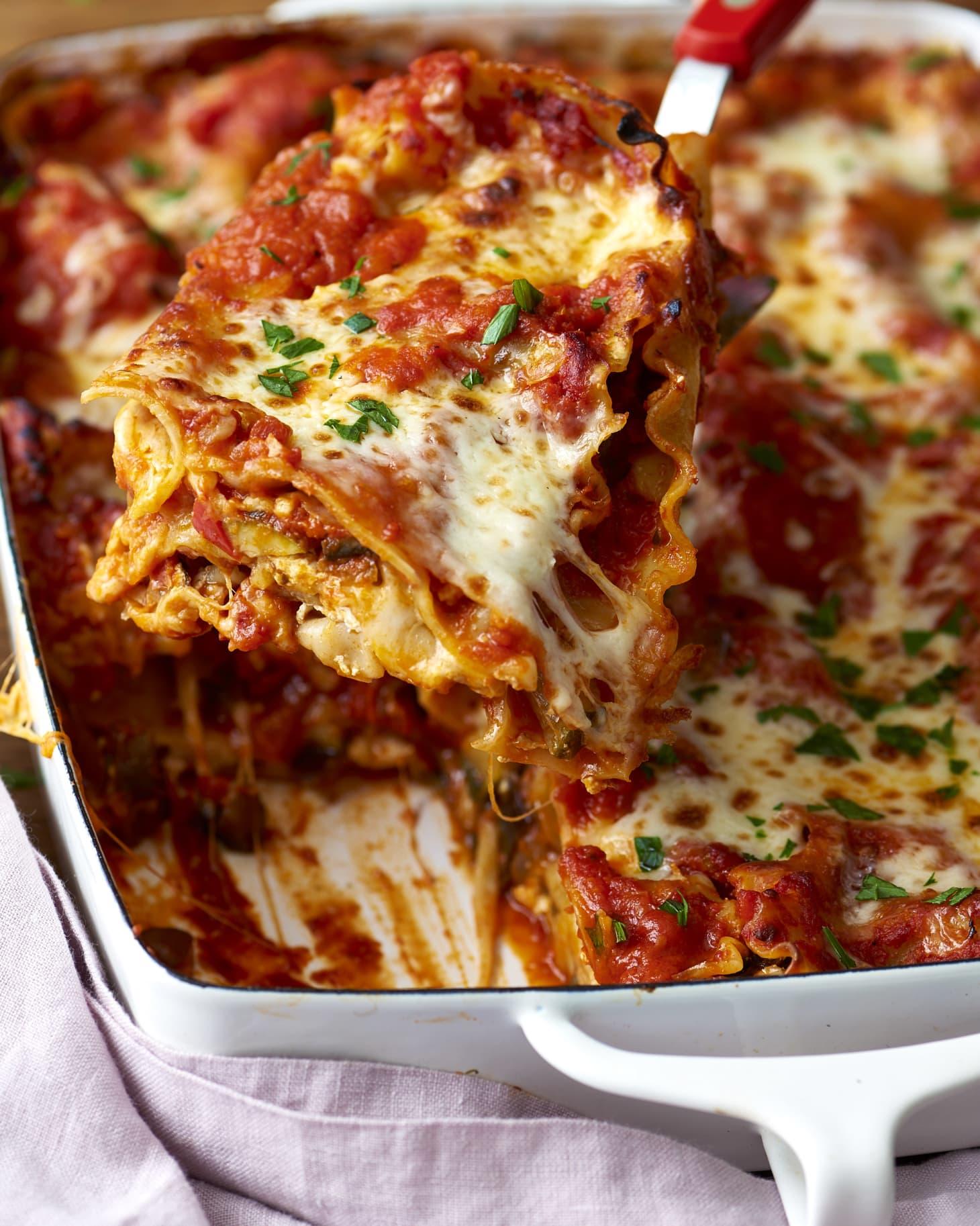 Cheesy Vegetarian Lasagna Kitchn