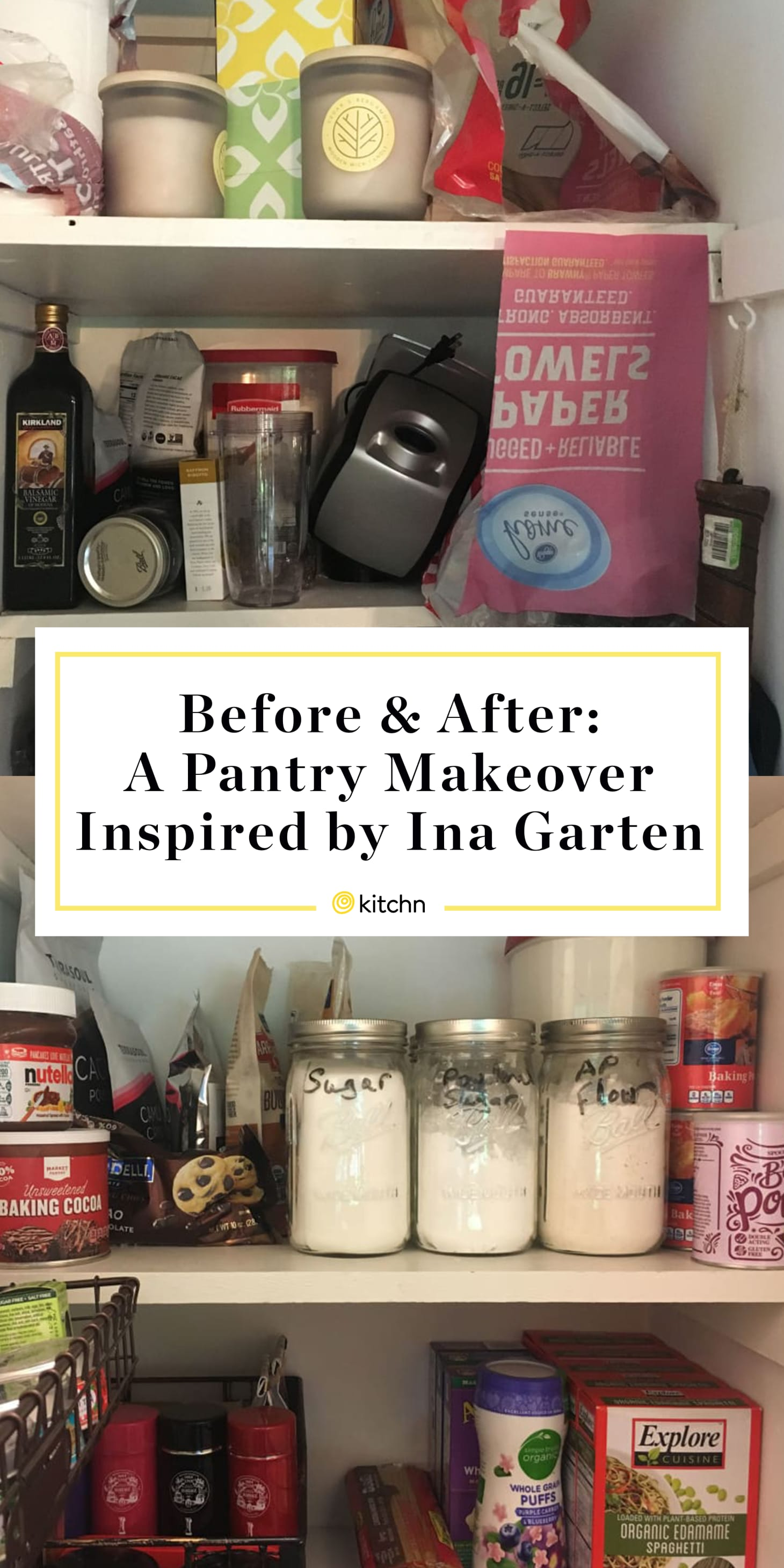 An Ina Garten-Inspired Pantry Makeover | Kitchn