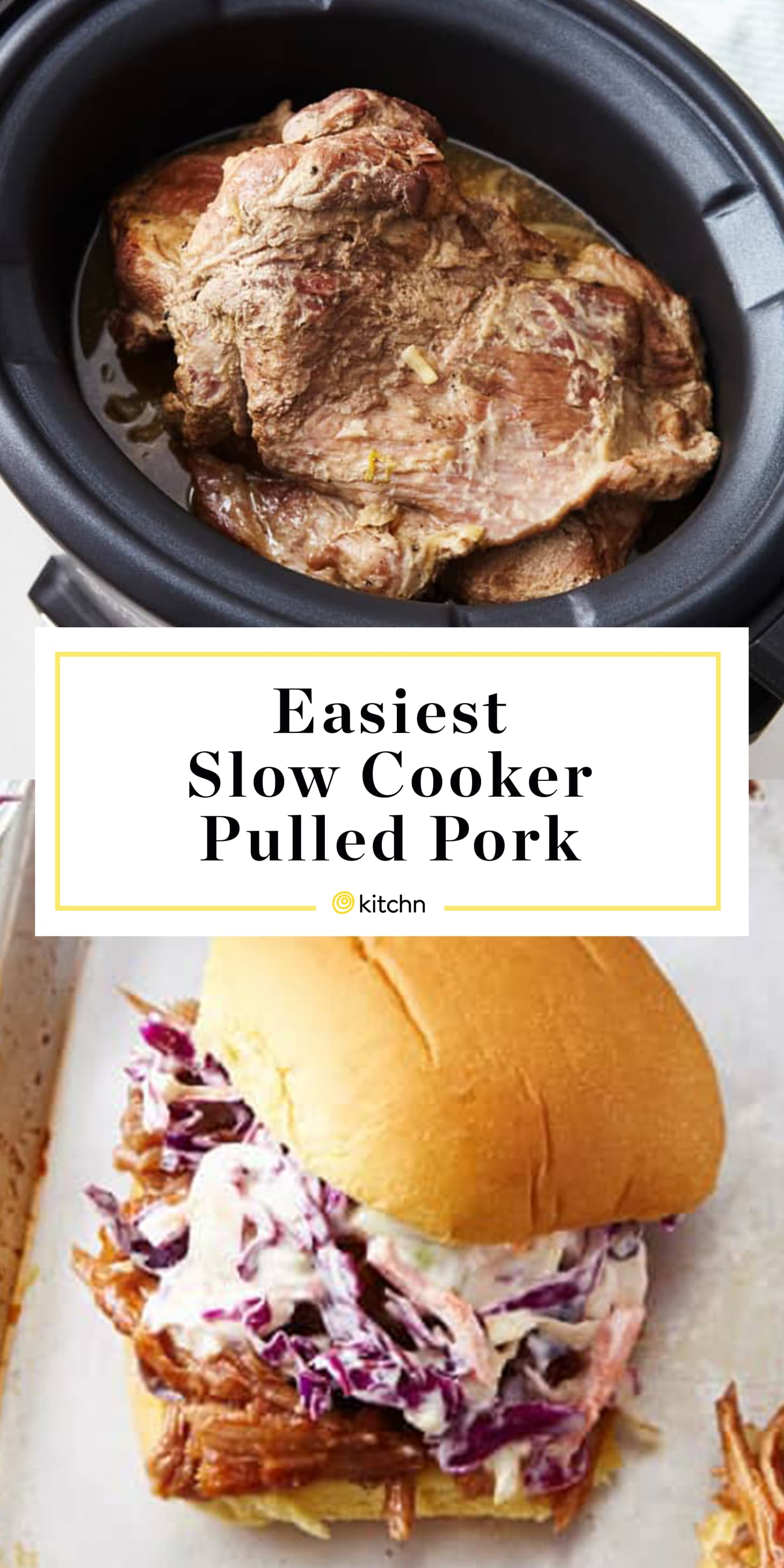 Simple Slow Cooker Pulled Pork