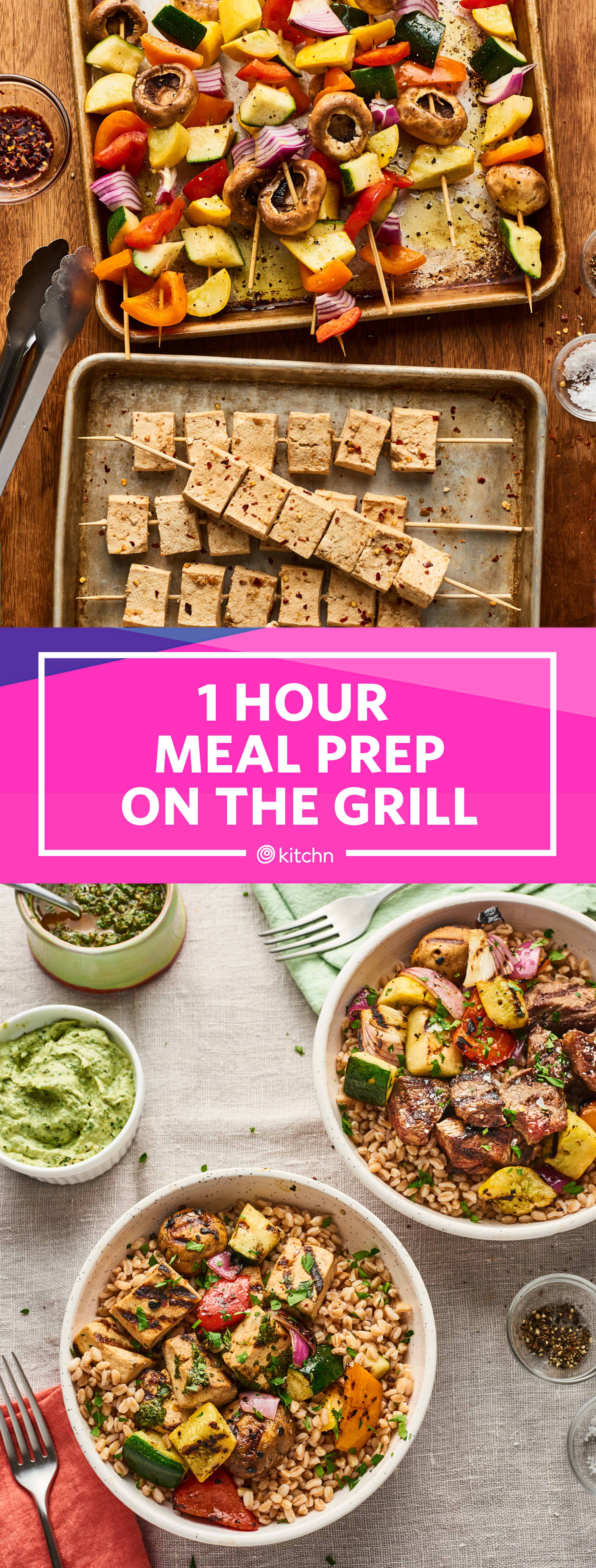 Prep for a Week of Meals on the Grill In 1 Hour | Kitchn