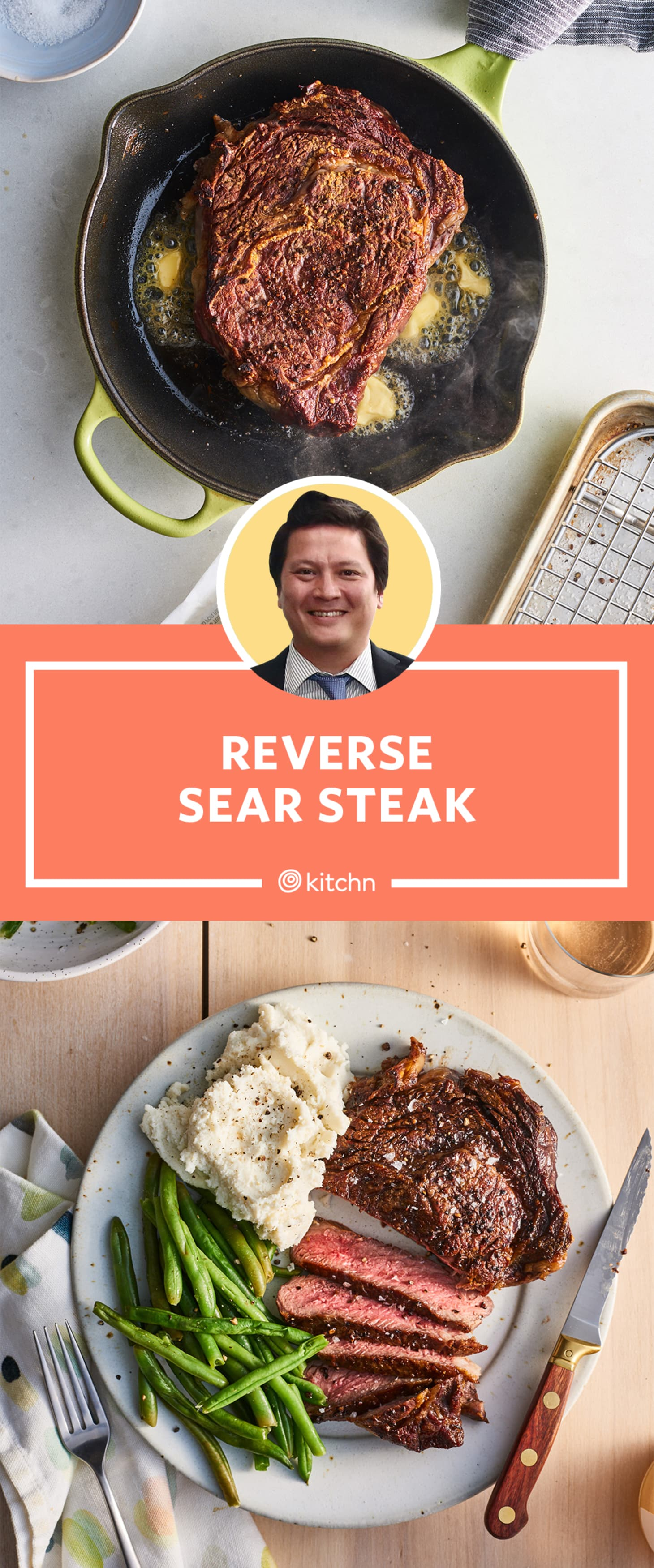 How To Reverse Sear Steak - The Best Method To Cook Steak