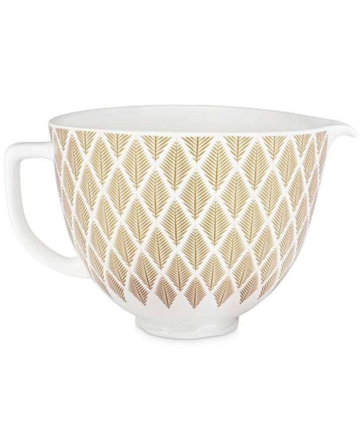 Product Image: KitchenAid 5-Qt. Gold Conifer Ceramic Bowl
