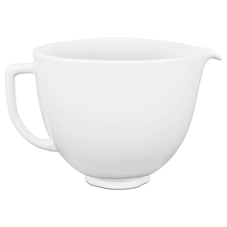 Product Image: 5-Qt. White Chocolate Ceramic Bowl