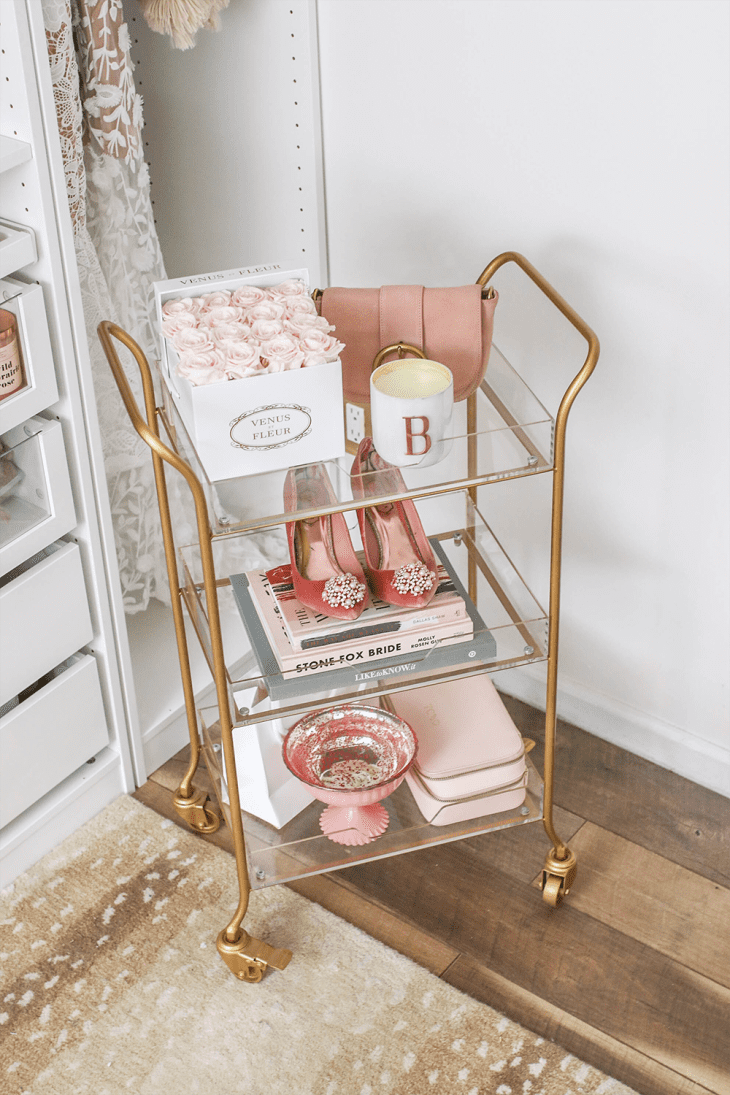 Ways To Style Bar Carts Without Alcohol Apartment Therapy