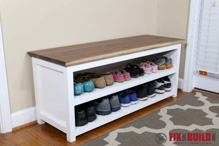 Diy Stylish Shoe Racks Apartment Therapy