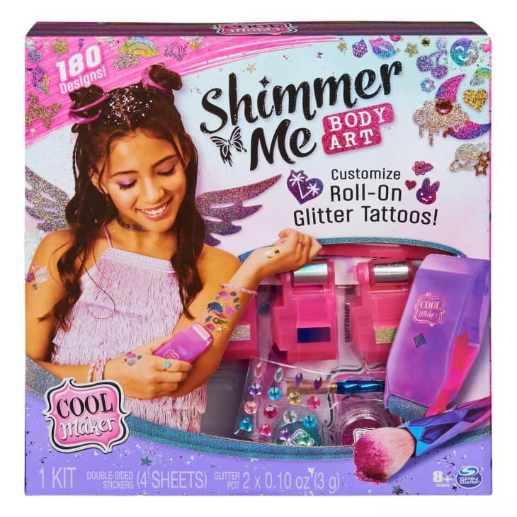 产品形象:Shimmer Me身体艺术
