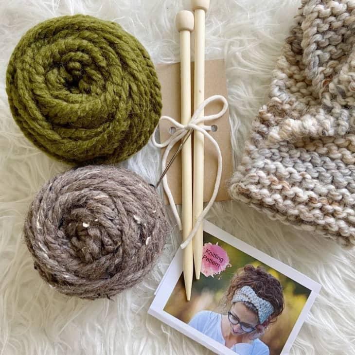 产品图片:初学者针织套装