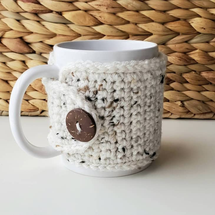 产品图片:手工钩编马克杯包装