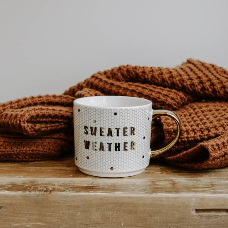 产品图片:毛衣天气瓷砖咖啡杯
