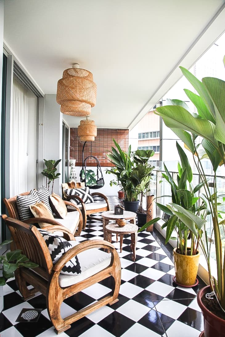 20 Fun Balcony Ideas How To Decorate A Small Balcony Apartment Therapy