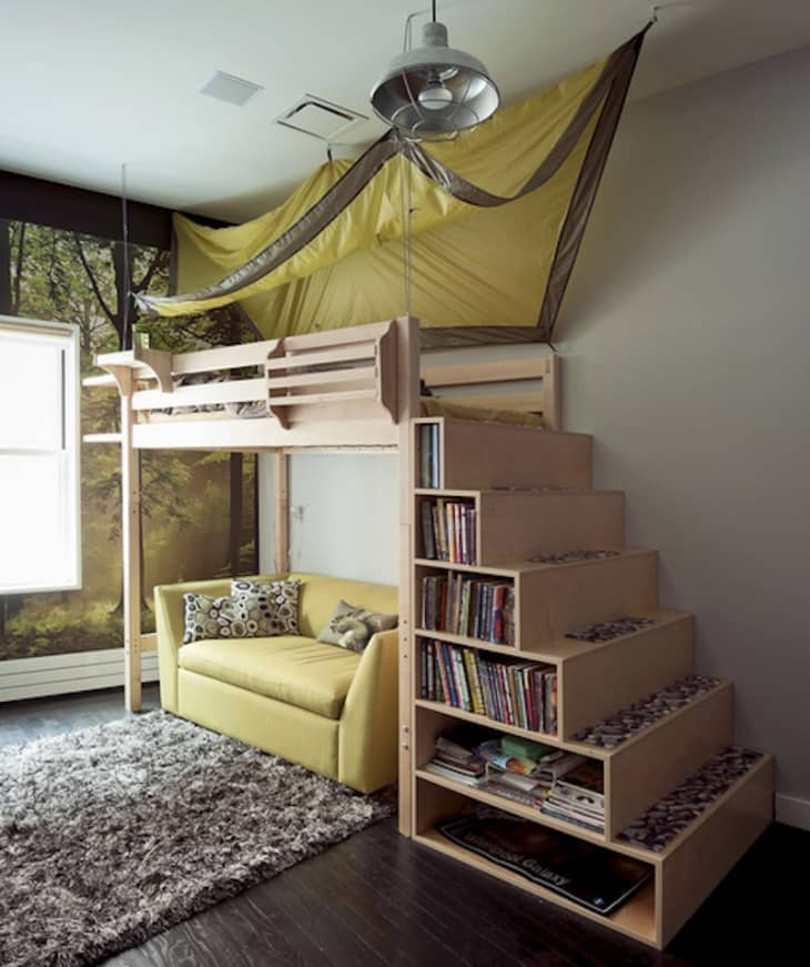 Get Ikea Bunk Beds With Stairs Background