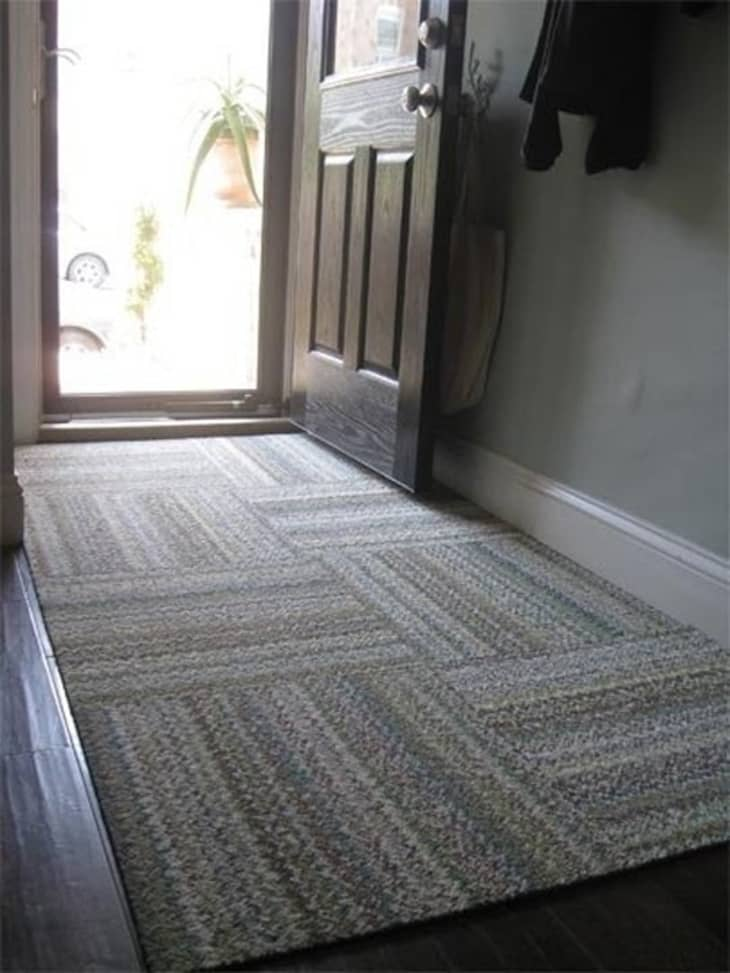 Temporary But Effective: 5 Ideas For Hiding Or Minimizing An Ugly Floor | Apartment Therapy