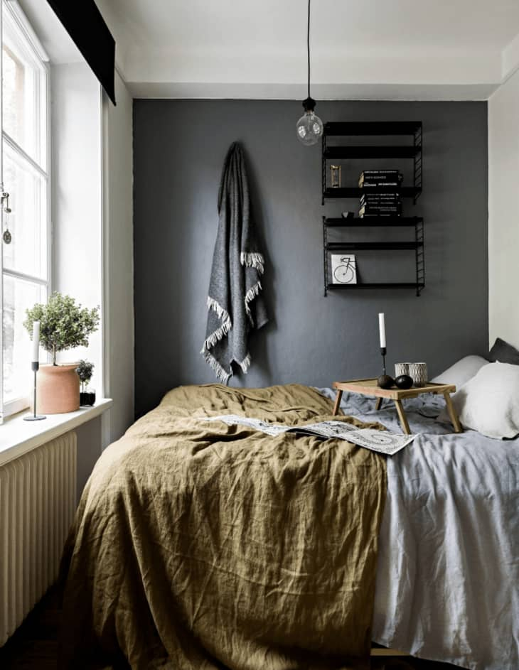 Ways To Make A Small Space Feel Bigger Paint One Wall