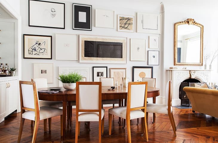 Gallery Wall Layout Photo Art Wall Ideas Apartment Therapy