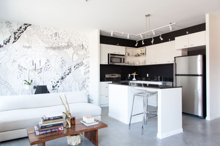Kitchen Design L Shape Layout With Island Apartment Therapy