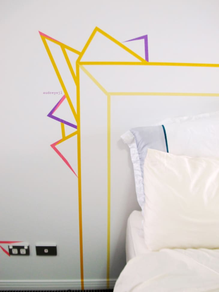 9 Ways To Transform Your Dorm Room With Washi Tape Apartment Therapy