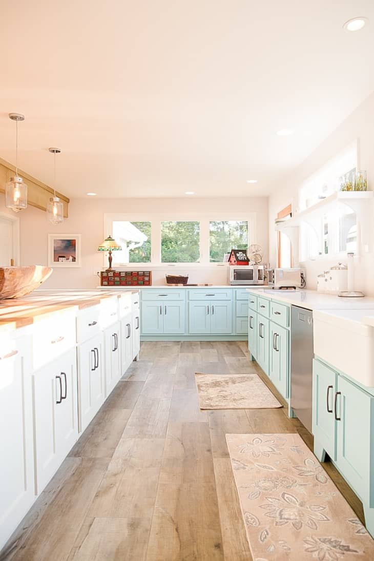 Before After Bright Beautiful Nashville Kitchen Renovation Apartment Therapy