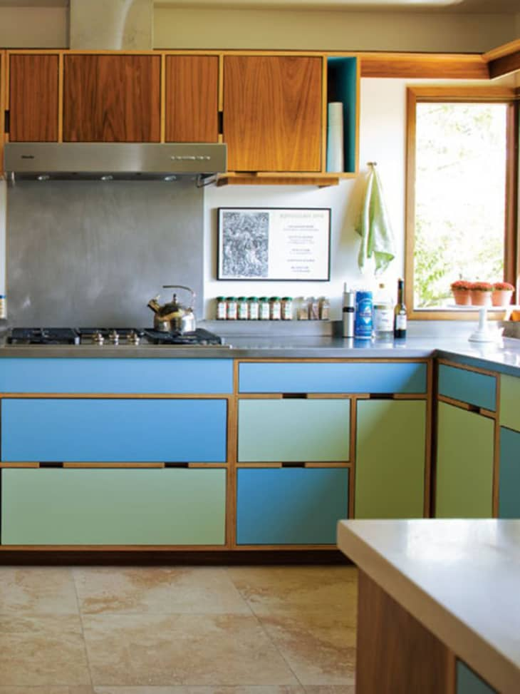 Painting Ideas - Kitchen Cabinet Colors   Apartment Therapy